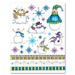 ST2022 Snowman stickeroos (Every Christmas)